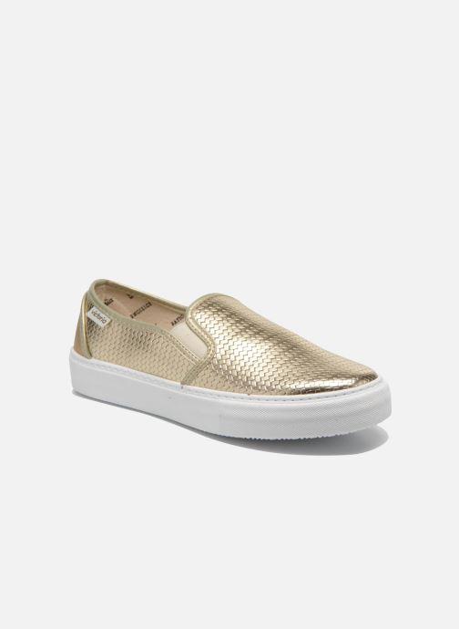 Sneakers Victoria Slip-on Metalizada Oro e bronzo vedi dettaglio/paio