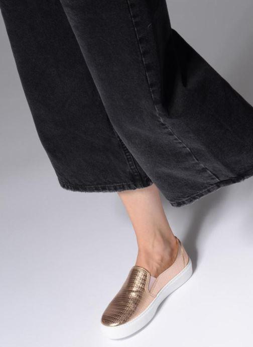 Sneakers Victoria Slip-on Metalizada Rosa immagine dal basso