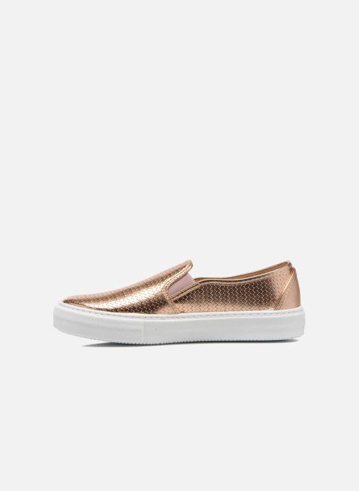 Sneakers Victoria Slip-on Metalizada Rosa immagine frontale