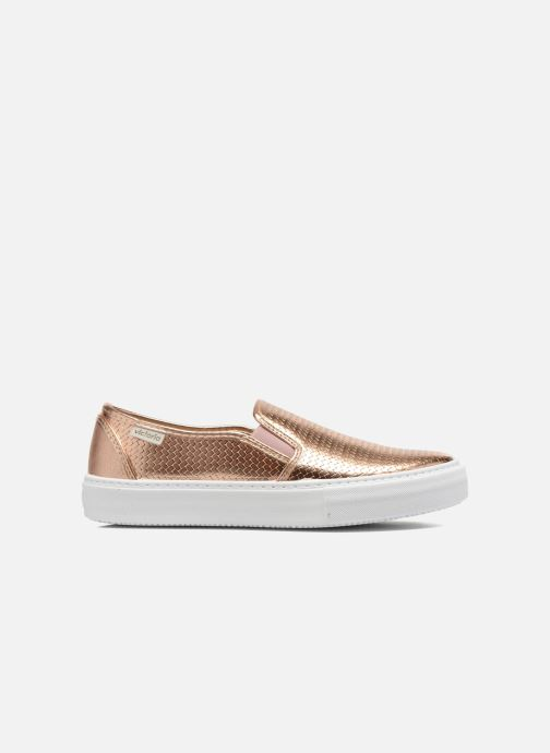 Baskets Victoria Slip-on Metalizada Rose vue derrière