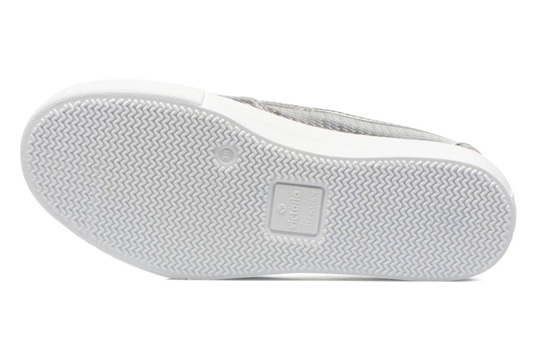 Sneakers Victoria Slip-on Metalizada Sølv se foroven