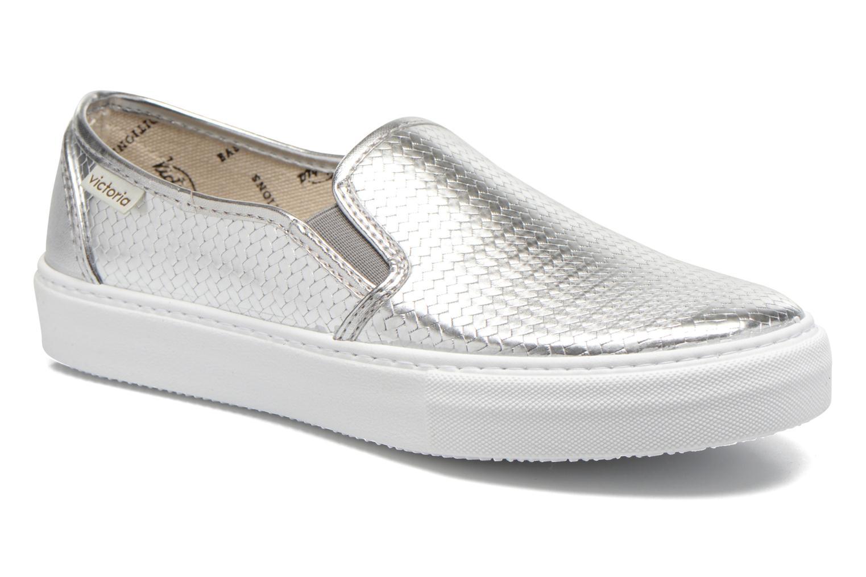 Nuevo zapatos Victoria Slip-on Más Metalizada (Plateado) - Deportivas en Más Slip-on cómodo feba90