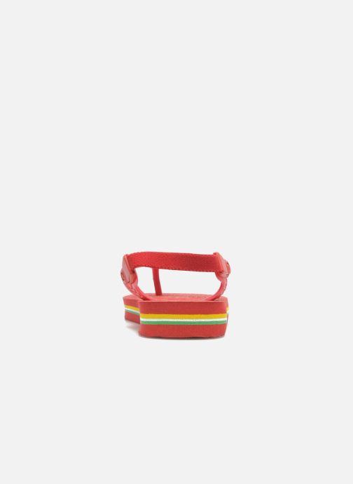 Slippers Havaianas Baby Brazil Logo Rood voorkant
