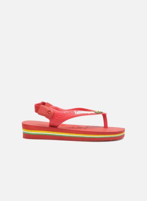 Slippers Havaianas Baby Brazil Logo Rood rechts