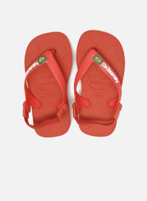 Slippers Havaianas Baby Brazil Logo Rood boven