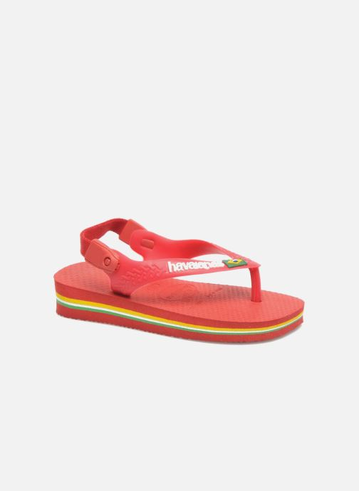 Slippers Havaianas Baby Brazil Logo Rood detail