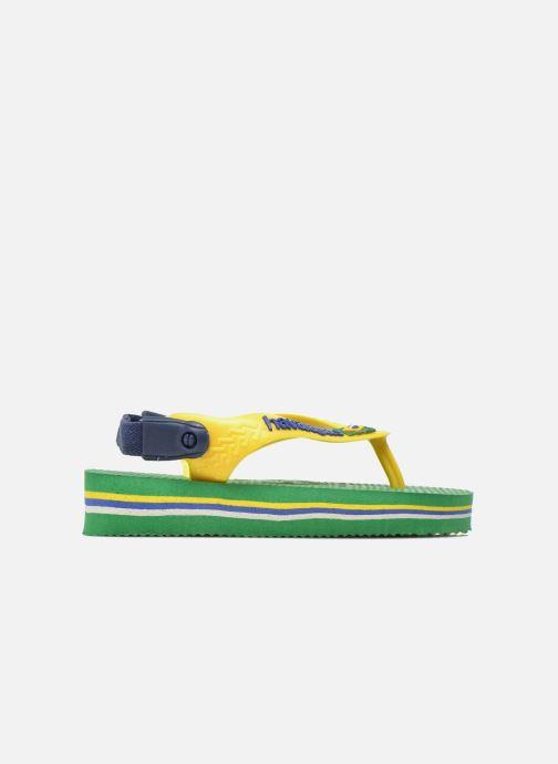 Slippers Havaianas Baby Brazil Logo Groen achterkant