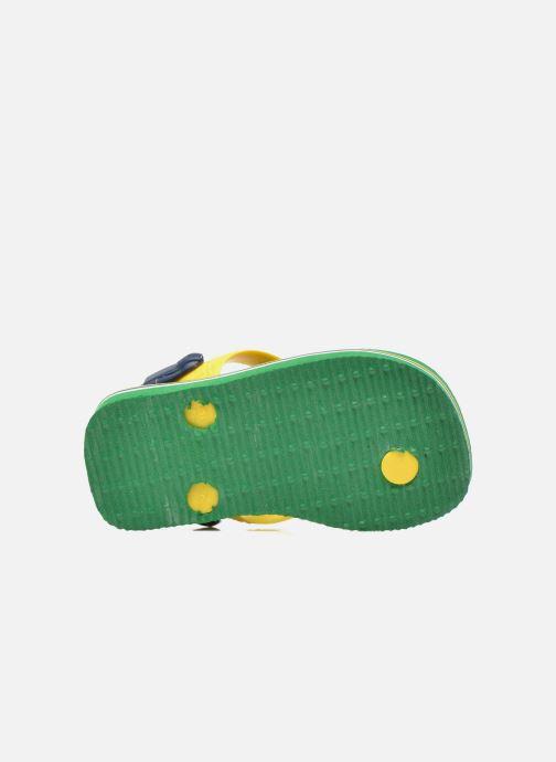 Slippers Havaianas Baby Brazil Logo Groen boven