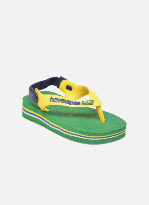 Slippers Havaianas Baby Brazil Logo Groen detail