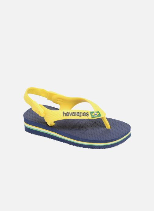 cee00f964f14 Havaianas Baby Brazil Logo (Blue) - Flip flops chez Sarenza (286602)