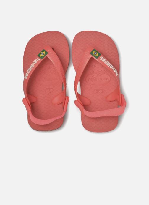 Slippers Havaianas Baby Brazil Logo Roze 3/4'