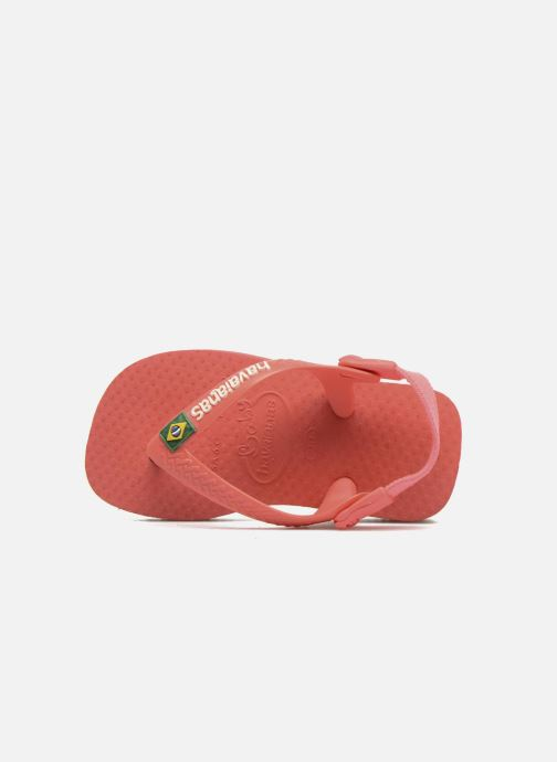 Slippers Havaianas Baby Brazil Logo Roze links