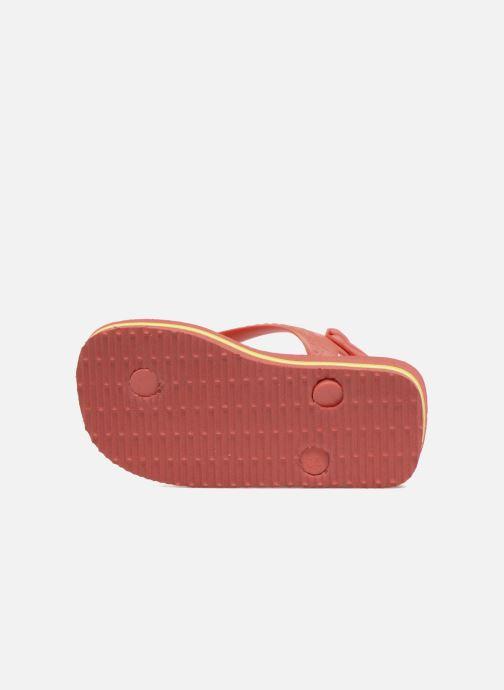 Slippers Havaianas Baby Brazil Logo Roze boven