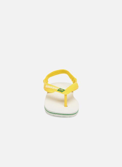 Flip flops & klipklapper Havaianas Baby Brazil Logo Hvid se skoene på