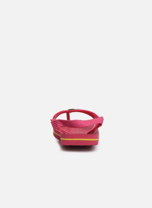 Slippers Havaianas Baby Brazil Logo Roze rechts