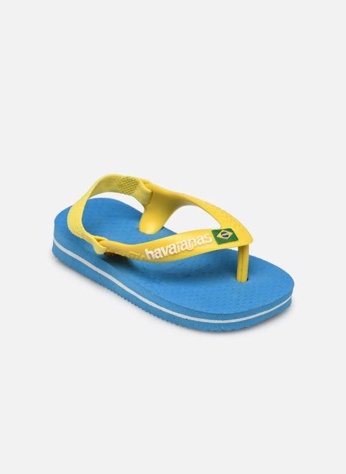 Flip flops & klipklapper Havaianas Baby Brazil Logo Blå se skoene på