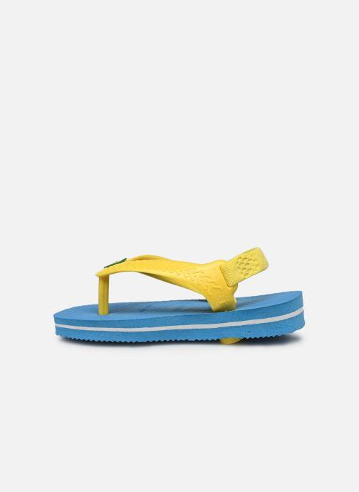 Tongs Havaianas Baby Brazil Logo Bleu vue face