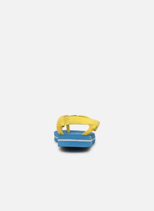 Tongs Havaianas Baby Brazil Logo Bleu vue droite