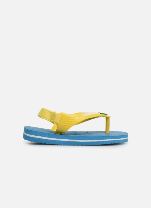 Infradito Havaianas Baby Brazil Logo Azzurro immagine posteriore