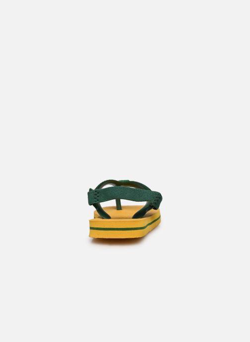 Slippers Havaianas Baby Brazil Logo Geel rechts