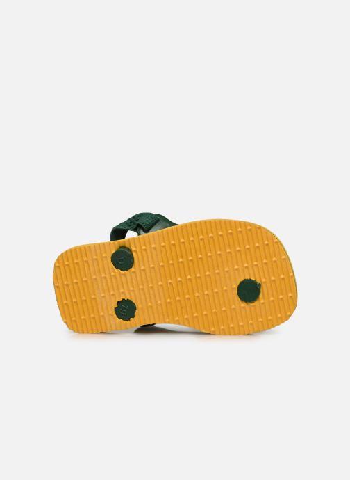 Slippers Havaianas Baby Brazil Logo Geel boven