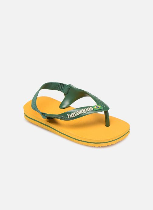 Slippers Havaianas Baby Brazil Logo Geel detail