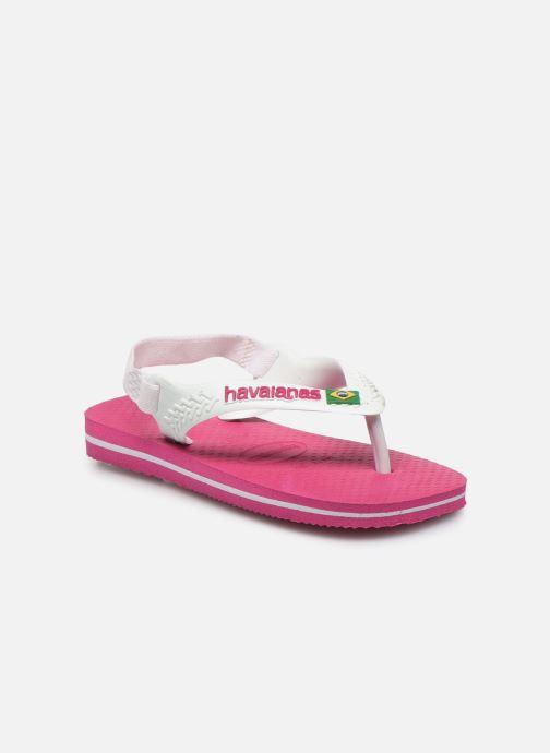 Slippers Havaianas Baby Brazil Logo Roze detail