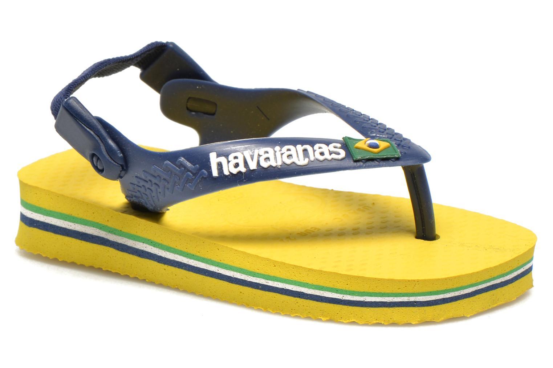 Infradito Havaianas Baby Brazil Logo Giallo vedi dettaglio/paio