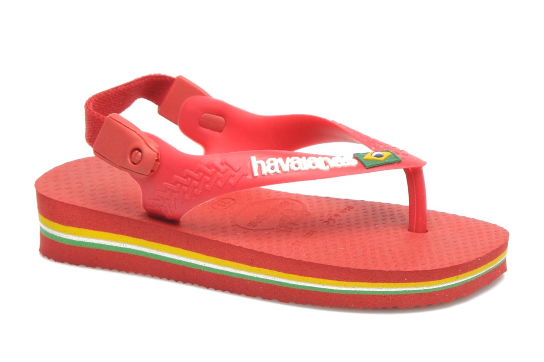 Infradito Havaianas Baby Brazil Logo Rosso vedi dettaglio/paio