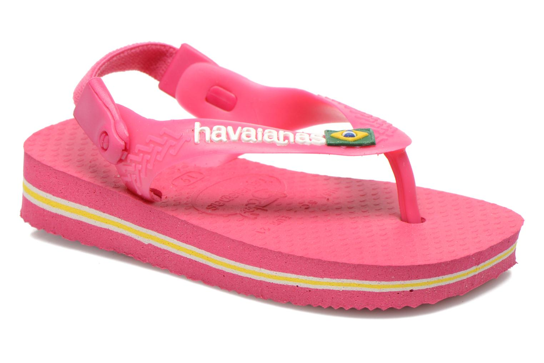 Infradito Havaianas Baby Brazil Logo Rosa vedi dettaglio/paio