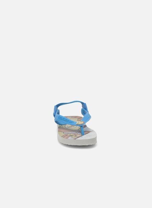 Chanclas Havaianas Baby Disney Retro Multicolor vista del modelo