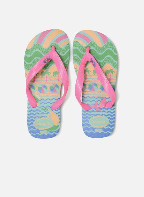 Tongs Havaianas Kids Fantasy Multicolore vue portées chaussures