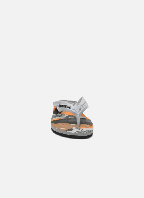 Tongs Havaianas Kids Max Trend Multicolore vue portées chaussures