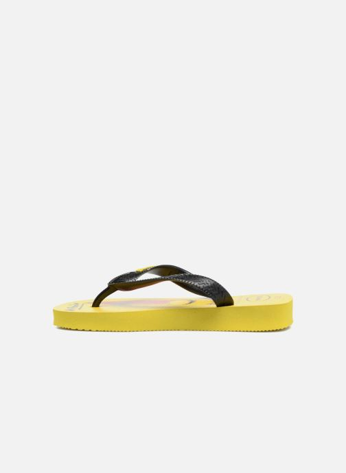 Tongs Havaianas Kids Minions Jaune vue face