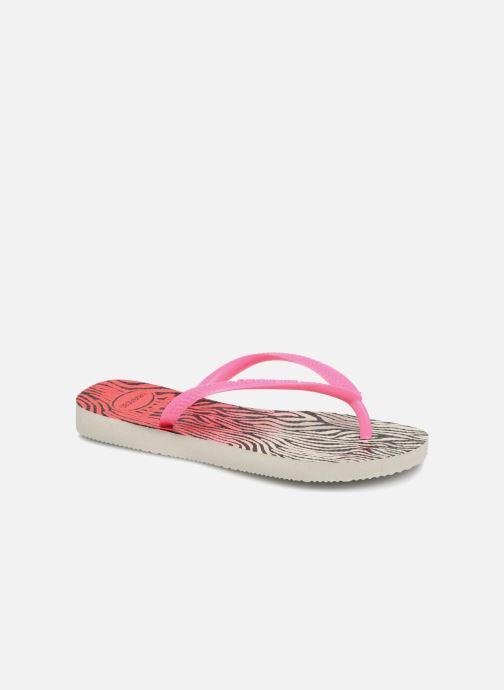 d1655a6522c1a Havaianas Kids Slim Animals (Pink) - Flip flops chez Sarenza (318011)