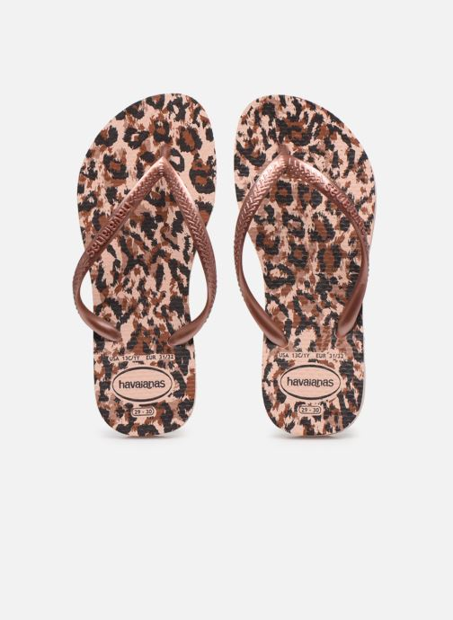 Slippers Havaianas Kids Slim Animals Roze model