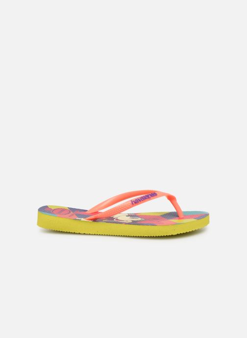 Chanclas Havaianas Kids Slim Disney Cool Naranja vistra trasera