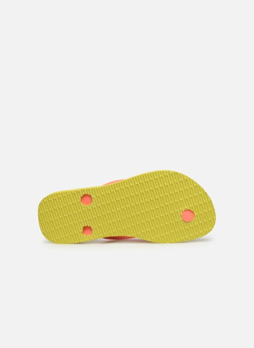 Chanclas Havaianas Kids Slim Disney Cool Naranja vista de arriba
