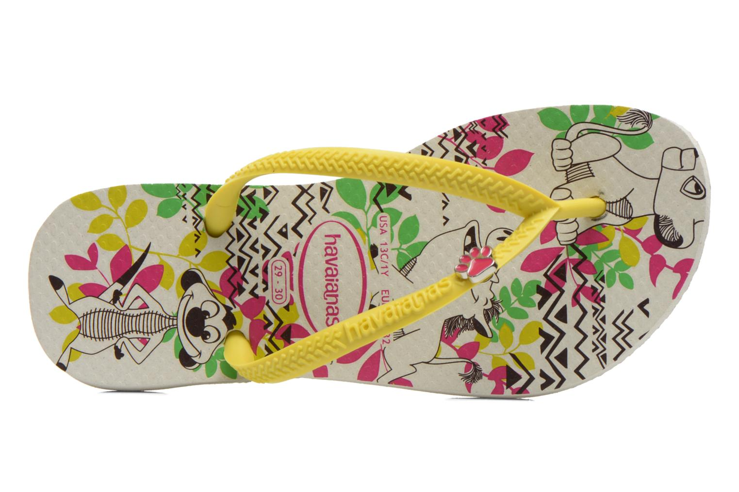 Flip flops Havaianas Kids Slim Disney Cool Multicolor view from the left
