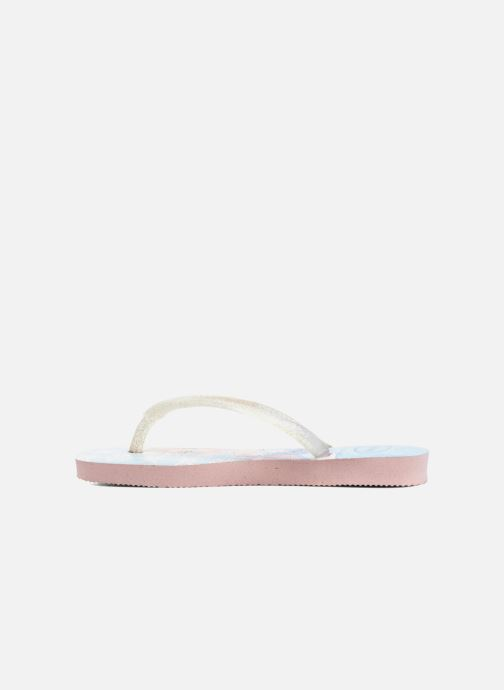 Tongs Havaianas Kids Slim Frozen Rose vue face