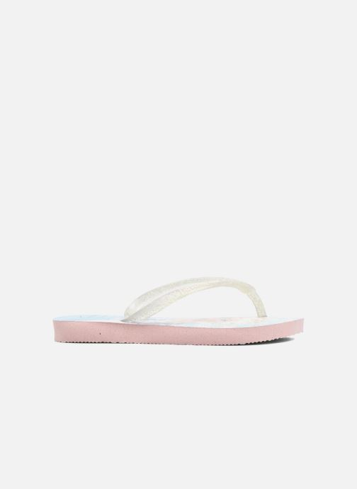 Tongs Havaianas Kids Slim Frozen Rose vue derrière