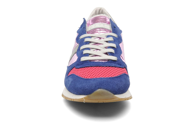 Baskets D.A.T.E Boston Laminated Nylon Multicolore vue portées chaussures