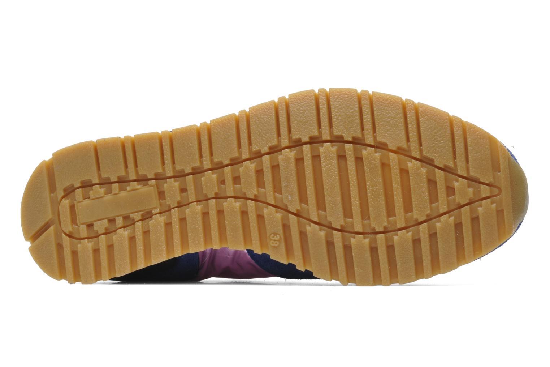 Baskets D.A.T.E Boston Laminated Nylon Multicolore vue haut