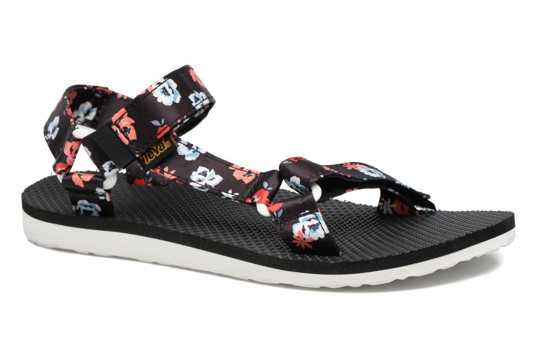 Sandales et nu-pieds Teva Original Universal Floral Noir vue détail/paire