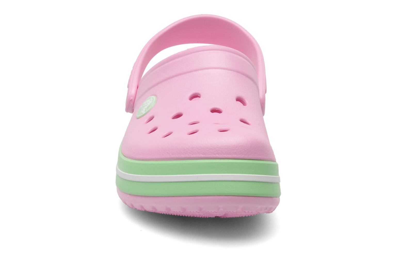 Sandales et nu-pieds Crocs CrocbandKids Rose vue portées chaussures