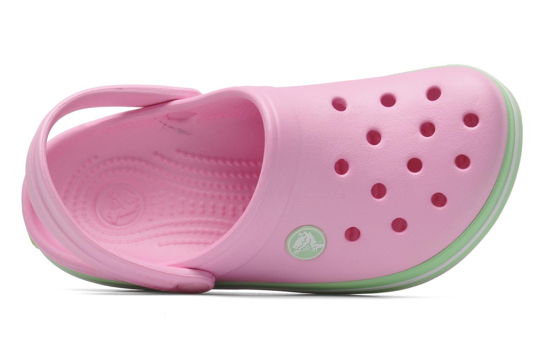 Sandales et nu-pieds Crocs CrocbandKids Rose vue gauche