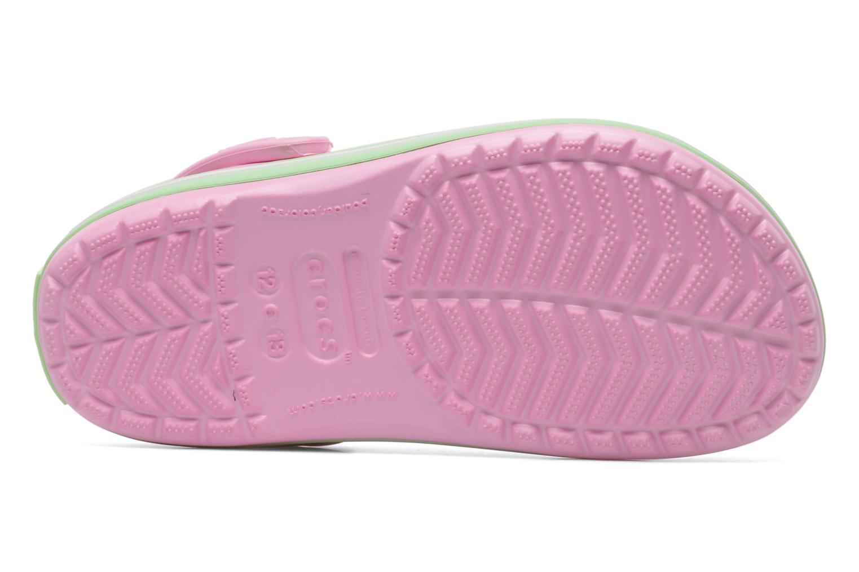 Sandales et nu-pieds Crocs CrocbandKids Rose vue haut