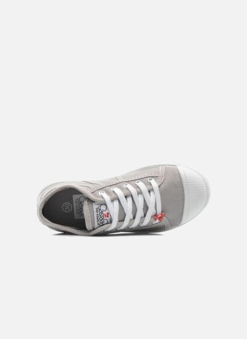 Sneakers Le temps des cerises Lc Basic 02 Grigio immagine sinistra