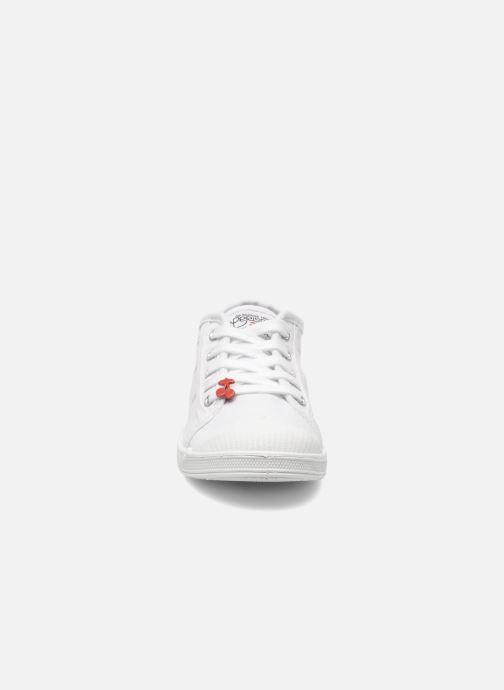 Baskets Le temps des cerises Lc Basic 02 Blanc vue portées chaussures