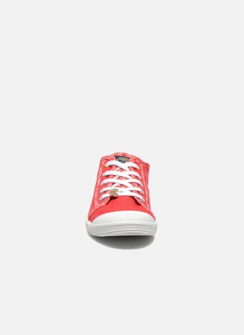 Baskets Le temps des cerises Lc Basic 02 Rouge vue portées chaussures
